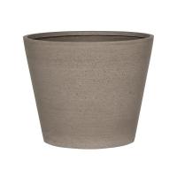 Кашпо refined bucket s clouded grey d50 h40 см