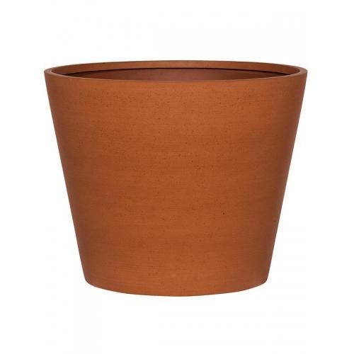 Кашпо refined bucket s canyon orange d50 h40 см