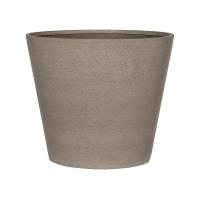 Кашпо refined bucket m clouded grey d58 h50 см