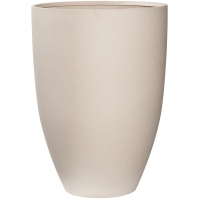 Кашпо refined ben xl natural white d52 h72 см