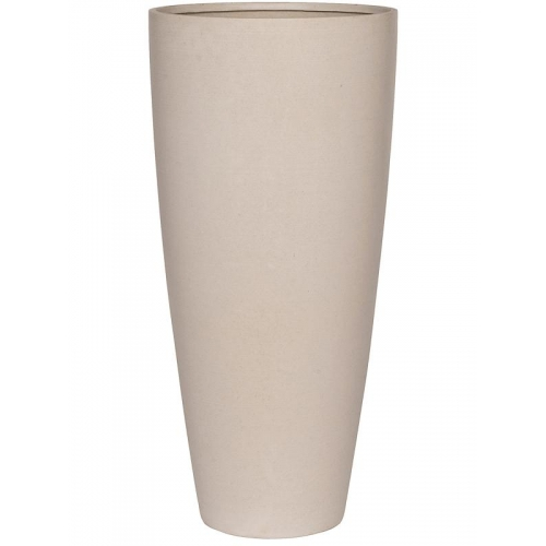 Кашпо refined dax xl natural white d47 h99 см