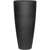 Кашпо refined dax xl volcano black d47 h99 см