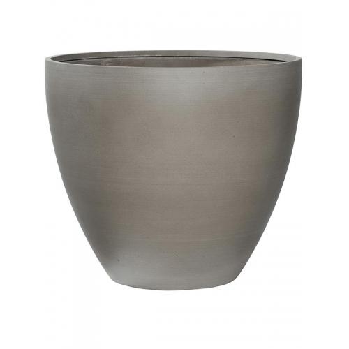 Кашпо refined jesslyn m clouded grey d60 h52 см