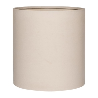 Кашпо refined max l natural white d50 h49 см