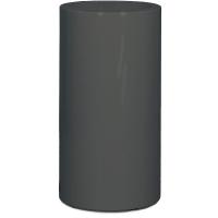 Кашпо premium classic quartz grey (straight) d42 h75 см