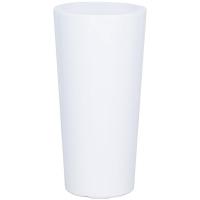 Кашпо premium classic white (conical) d42 h75 см
