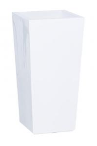 Кашпо premium classic white (conical) l42 w42 h75 см