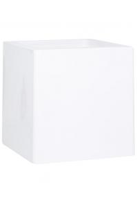Кашпо premium cubus white l80 w80 h80 см