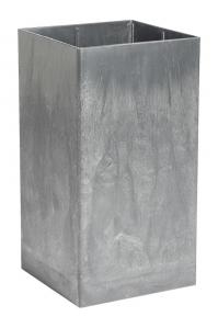 Кашпо prestige plus high shine ral 9010 l40 w40 h100 см
