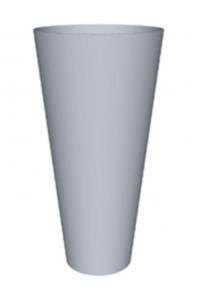 Кашпо primus structuur ral: 9010 d56 h112 см