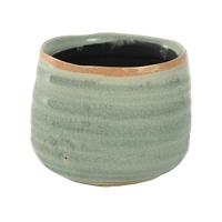 Кашпо indoor pottery pot iris mint (per 12 pcs.) d8 h7 см