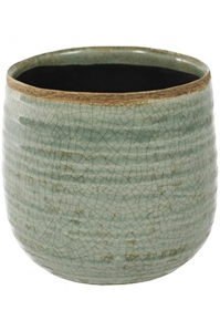 Кашпо indoor pottery pot iris mint (per 6 pcs.) d15 h14 см