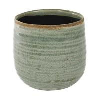 Кашпо indoor pottery pot iris mint (per 6 pcs.) d15 h14 см