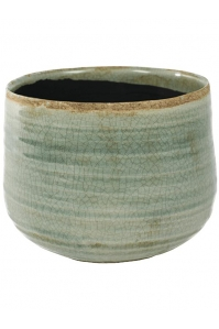 Кашпо indoor pottery pot iris mint (per 2 pcs.) d21 h17 см