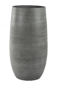 Кашпо indoor pottery pot esra mystic grey d27 h50 см