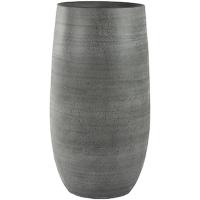 Кашпо indoor pottery pot esra mystic grey d27 h50 см
