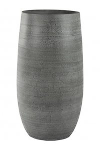 Кашпо indoor pottery pot esra mystic grey d31 h70 см