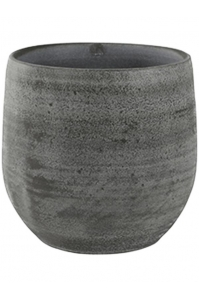 Кашпо indoor pottery pot esra mystic grey (per 6 pcs.) d18 h16 см