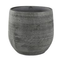 Кашпо indoor pottery pot esra mystic grey (per 6 pcs.) d18 h16 см