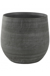 Кашпо indoor pottery pot esra mystic grey d26 h26 см