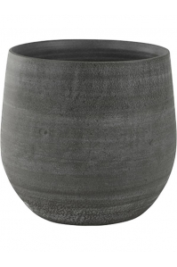 Кашпо indoor pottery pot esra mystic grey d36 h32 см