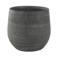 Кашпо indoor pottery pot esra mystic grey d36 h32 см