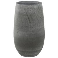Кашпо indoor pottery pot esra mystic grey (per 2 pcs.) d18 h30 см