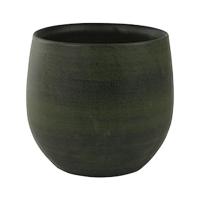 Кашпо indoor pottery pot esra green (per 6 pcs.) d15 h13 см