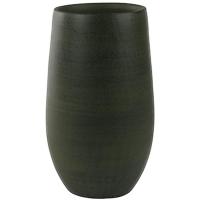 Кашпо indoor pottery pot high esra green (per 2 pcs.) d18 h30 см