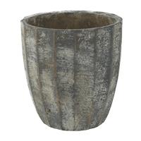 Кашпо indoor pottery pot ellis earth d13 h14 см
