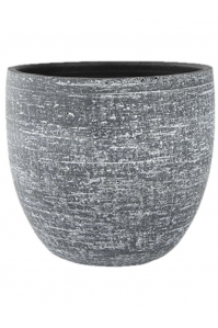 Кашпо indoor pottery pot karlijn anthracite d35 h32 см