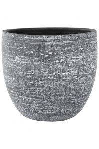 Кашпо indoor pottery pot karlijn anthracite d42 h38 см