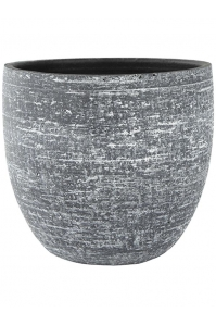 Кашпо indoor pottery pot karlijn anthracite d46 h42 см
