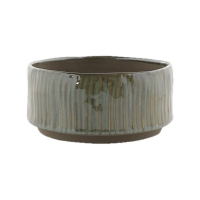 Кашпо indoor pottery bowl senne ice green (per 6 pcs.) d19 h9 см