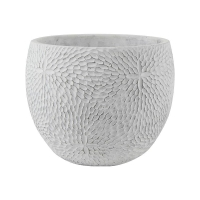 Кашпо indoor pottery pot mick white (per 2 pcs.) d24 h19 см