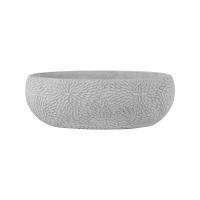 Кашпо indoor pottery boat mick white (per 4 pcs.) l33 w17 h11 см