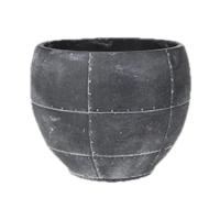 Кашпо indoor pottery pot detroit earth (per 6 pcs.) d16 h12 см