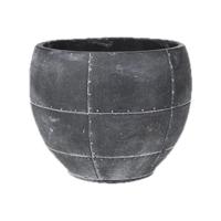 Кашпо indoor pottery pot detroit earth (per 4 pcs.) d18 h14 см