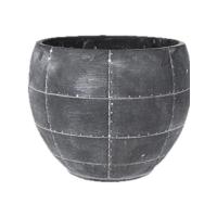Кашпо indoor pottery pot detroit earth (per 4 pcs.) d21 h16 см