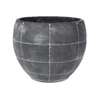 Кашпо indoor pottery pot detroit earth (per 2 pcs.) d24 h19 см