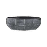 Кашпо indoor pottery pot boat detroit earth (per 4 pcs.) l33 w17 h11 см