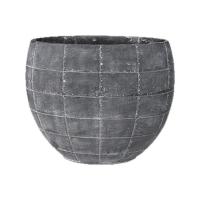 Кашпо indoor pottery planter detroit earth (per 3 pcs.) l29 w16 h24 см