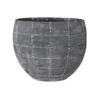 Кашпо indoor pottery planter detroit earth l36 w20 h29 см
