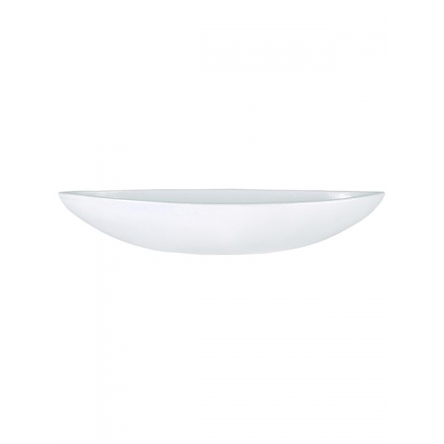 Блюдо indoor pottery cresta pure white (per 2 pcs.) l61 w18 h11 см