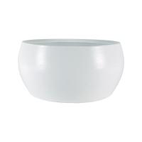 Кашпо indoor pottery bowl cresta pure white (per 2 pcs.) d28 h13 см