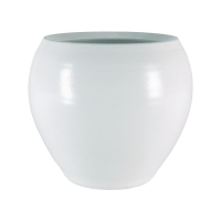 Кашпо indoor pottery pot cresta pure white (per 4 pcs.) d19 h16 см