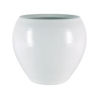 Кашпо indoor pottery pot cresta pure white (per 2 pcs.) d22 h20 см