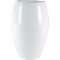 Кашпо indoor pottery pot cresta pure white (per 2 pcs.) d20 h30 см