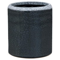 Кашпо indoor pottery (15/19) so good for hydro (anthracite) d19 h21 см