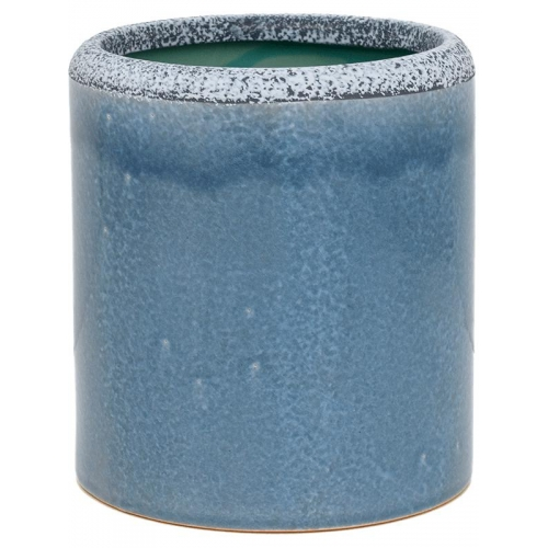 Кашпо indoor pottery (15/19) so good for hydro (grey-blue) d19 h21 см